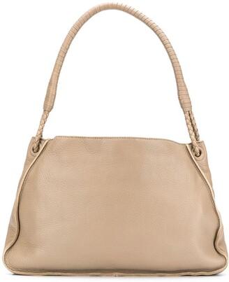 Bottega Veneta Pre Owned 2000s Braided Handle Shoulder Bag