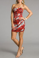 Windsor Bella- Animal Print Holiday Dresses
