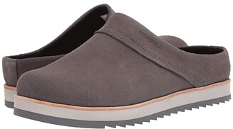 Merrell Juno Clog Suede (Bluestone) Women's Shoes