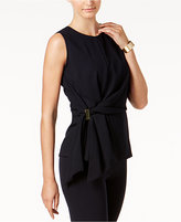 DKNY Faux-Wrap Hardware Top