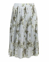 Ted Baker Estie Highland Jersey Pleated Midi Skirt