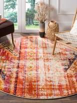 Safavieh Monaco Vibrant Abstract Persian Round Rug