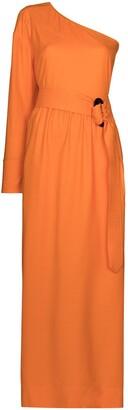 NACKIYÉ Patmos one-shoulder maxi dress