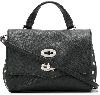 Zanellato Postina Baby stud-embellished tote bag