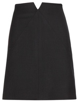 Courreges Wool Skirt