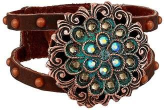 Leather Rock Buffy Bracelet