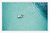 Clear Blue Lake (Framed Giclee)
