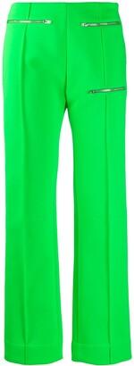 Kwaidan Editions Zip Detail Slim-Fit Trousers