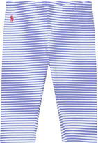 Ralph Lauren Blue Stripe Leggings