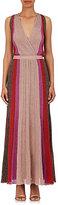 Missoni Women's Striped Rib-Knit Sleeveless Gown