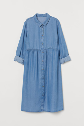 H&M MAMA Lyocell Shirt Dress