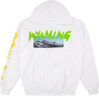 Yeezy Wyoming-print hoodie