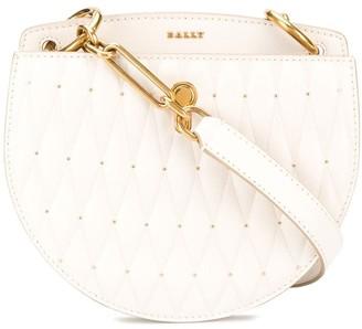 Bally Diamond-Quilt Crossbody Bag