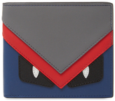 Fendi Leather Card Case Wallet