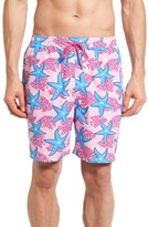Vineyard Vines Men's Underwater Starfish Chappy Swim Trunks