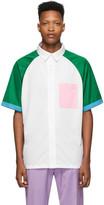 Landlord White Basketball Short Sleeve Shirt