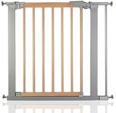 Babydan True Pressure Avantgarde Baby Safety Stair Gate Silver Beech All Widths (77.5cm-84.4cm) by