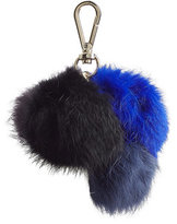 Diane von Furstenberg Rabbit Fur Keychain