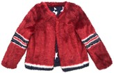 Mother Red Faux fur Jacket for Women