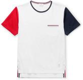 Thom Browne - Slim-fit Tricolour Cotton-jersey T-shirt