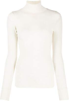 AMI Paris Long Sleeved Ribbed Jumper
