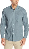 Dockers Long Sleeve Gingham Cvc Woven Shirt