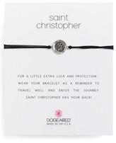 Dogeared Women's Saint Christopher Pull Bracelet