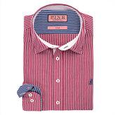 Thomas Pink Latitude Stripe Classic Fit Button Cuff Shirt
