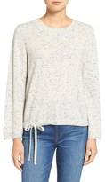 Madewell Flare Sleeve Crop Cashmere Sweater