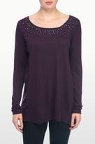 NYDJ Embellished Pullover