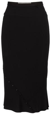 Rick Owens Silk midi skirt