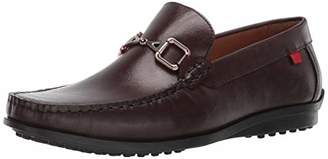 Marc Joseph New York Mens Grainy Leather Carneige Hill Buckle Loafer