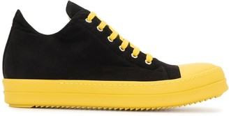 Rick Owens Colour-Block Sneakers