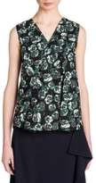 Marni Floral-Print Cotton Top