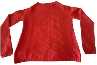 Non Signé / Unsigned Non Signe / Unsigned Orange Cashmere Knitwear for Women