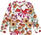 Mini Rodini Off-White Botanical Long Sleeve Tee