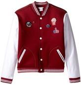 Little Marc Jacobs Rainbow Teddy Jacket Girl's Coat