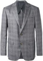 Pal Zileri plaid blazer - men - Silk/Linen/Flax/Cupro/Wool - 50