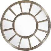 Surya Geometric Silver Wall Mirror