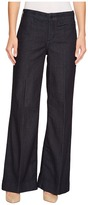 NYDJ Greta Trouser in Dark Enzyme Women's Jeans