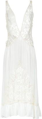 Martha Medeiros Lace Midi Gown