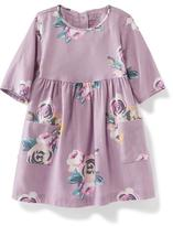 Old Navy Double-Pocket Twill Dress for Baby