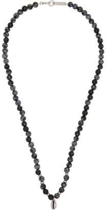 Isabel Marant Black Mr Grigri Necklace