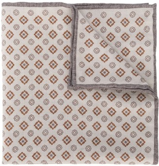 Eleventy Woven Pattern Neckerchief