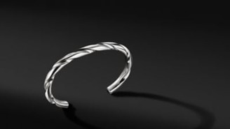 David Yurman Modern Cable Cuff Bracelet