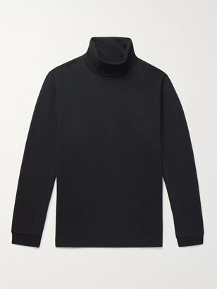 NN07 Zyron Tencel And Cotton-Blend Rollneck Top