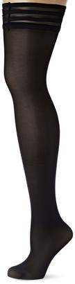 Le Bourget Women's Semi-Opaque Hold-up Stockings 40 DEN