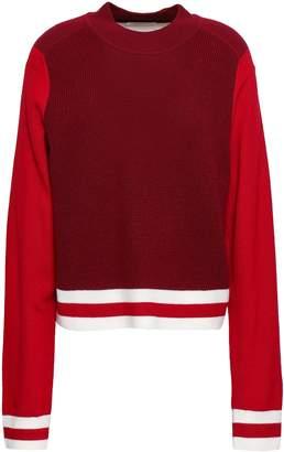 Rag & Bone Color-block Merino Wool Sweater