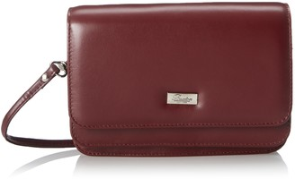 Buxton Double Flap Mini Cross Body Bag