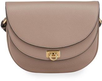 Salvatore Ferragamo Travel Leather Crossbody Bag